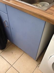closed cupboard