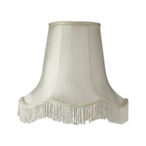 The lampshade (disintegrating and yellowing) looked like this